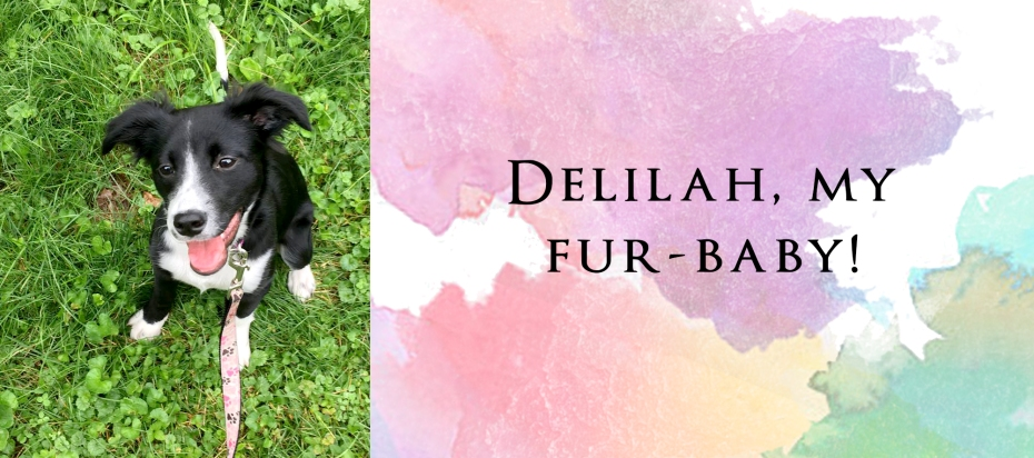 About Brittany Cournoyer, author - delilah dog